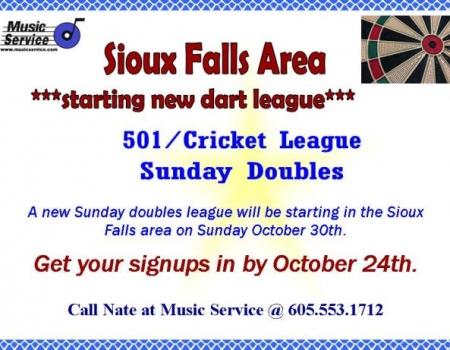 New 501/Cricket Sunday Doubles