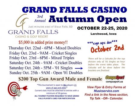 2020 Grand Falls Autumn Open