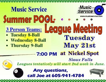 Sioux Falls Summer Pool 052119