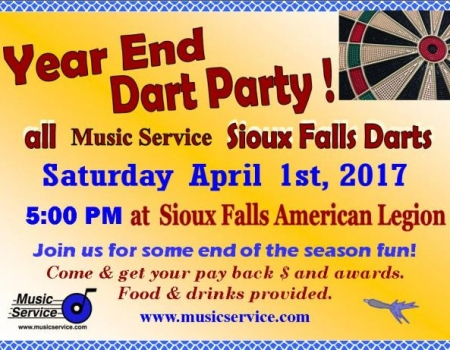 SF Year End Dart Party