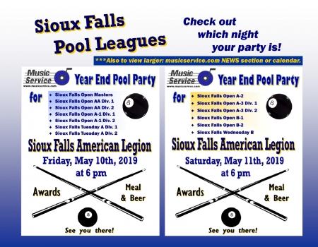 2019 SFalls Year End Pool Parties