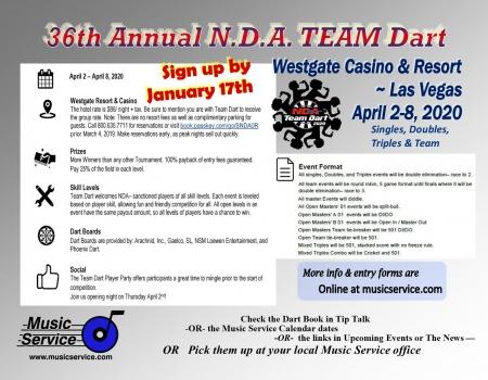 2020 NDA Team Dart