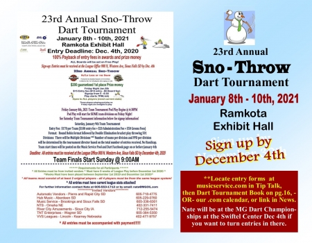 23rd Annual Sno-Throw Team Tournament