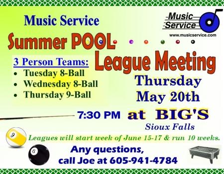 2021 Summer Pool Sioux Falls