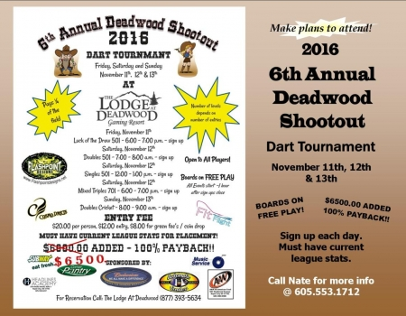 2016 Deadwood Shootout