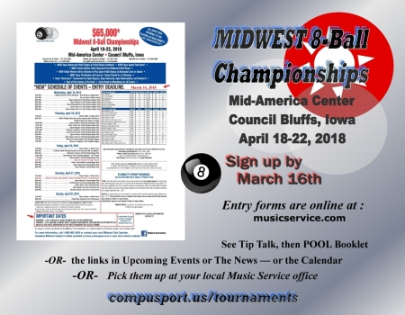 Midwest 8-Ball Championships - 2018