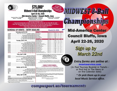 2020 Midwest Pool Championships
