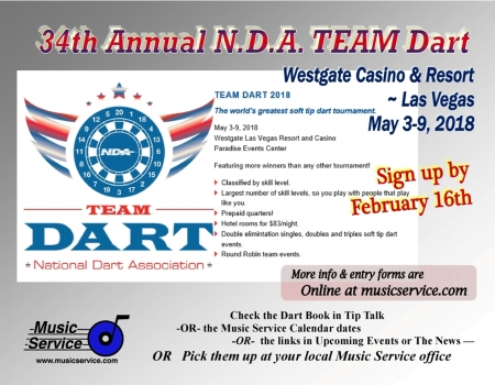 2018 NDA Team Darts