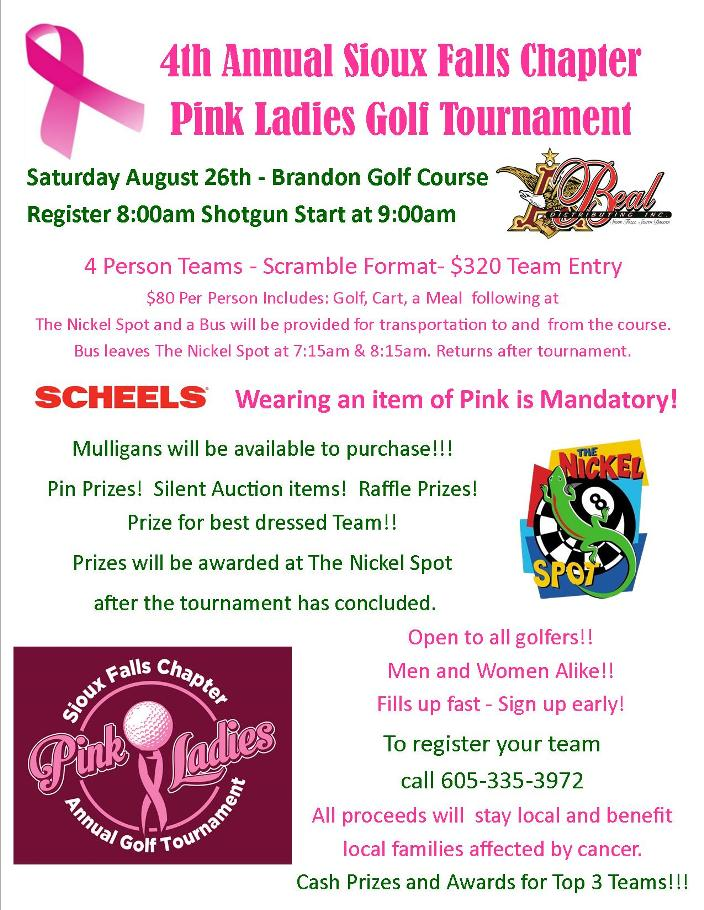 082617 Pink Ladies Golf Tournament Flyer 2017 704x900